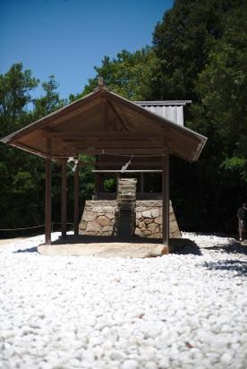 Le sanctuaire aux marches de verres