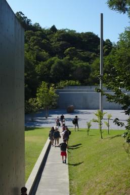 L'entrée du Lee Ufan Museum